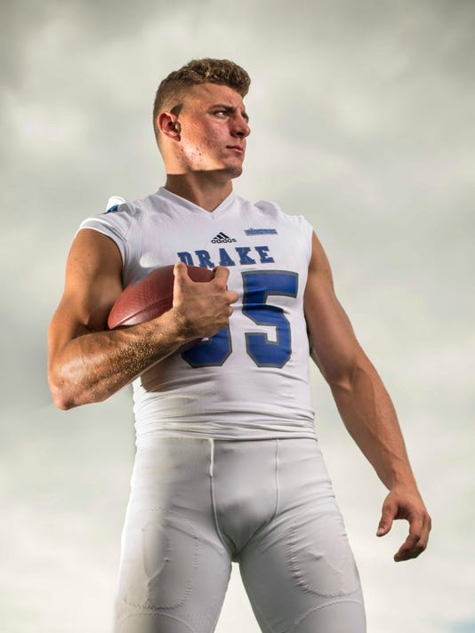 100% authentic 377a7 d6577 Drake's Eric Saubert impressing as a draft prospect at ...