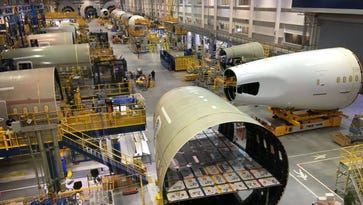 Photo tour: Behind the scenes at Boeing's 787 factory in South Carolina