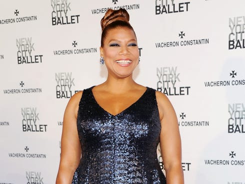Queen Latifah attends the New York City Ballet Spring Gala in New York.