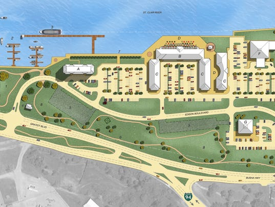 Marysville Unveils Hotel Waterfront Concept For Dte Site