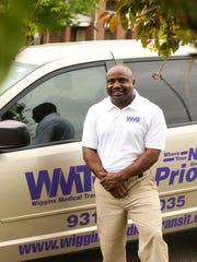 O'Neal Wiggins, founder of Wiggins Medical Transport,