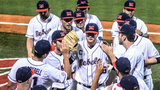 Ole Miss opens a three-game series with Alabama this weekend with hopes of an SEC West title.
