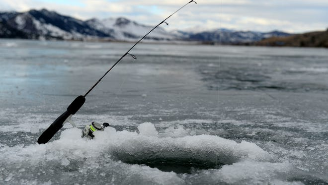 The Western Bar Ice Fishing Derby, which took place at Willow Creek Reservoir on Jan. 23, was a huge success.