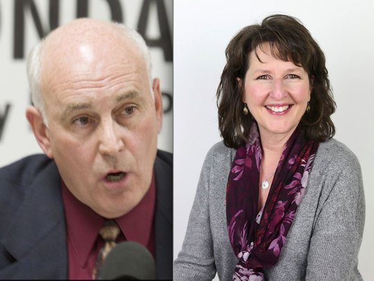 The race for Genoa Township Supervisor between former Michigan state representative Bill Rogers and current Trustee Linda Rowell is one to watch.