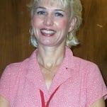Teacher Terri Friedlander
