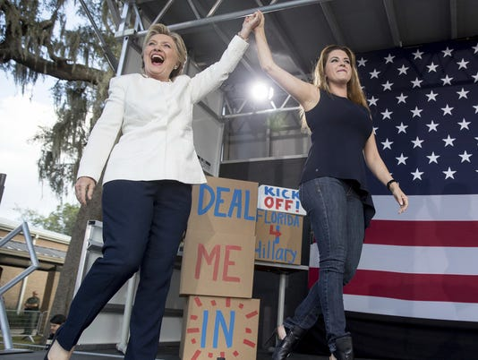 Hillary Clinton, Alicia Machado