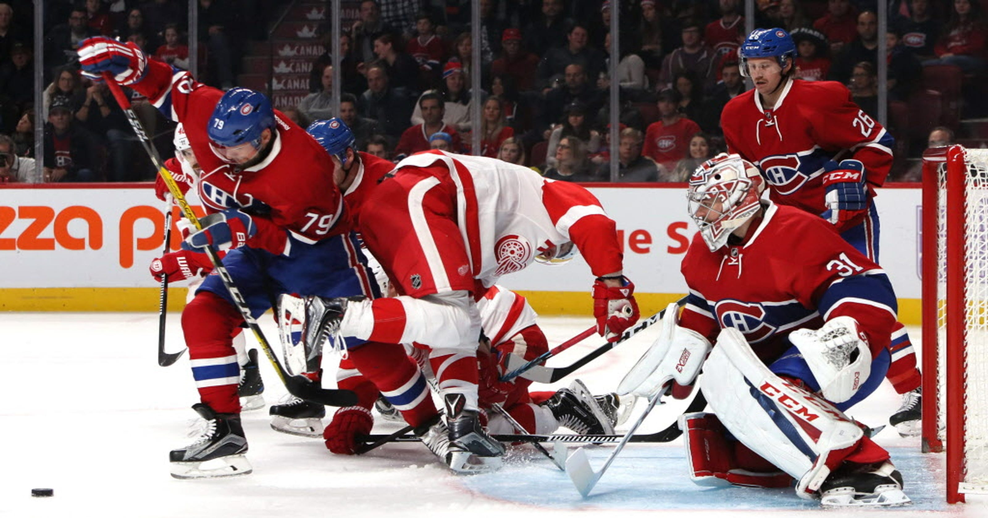8aa2f5a0a Canadiens make franchise history with shutout win vs. Red Wings