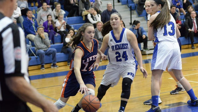 Jessica Torch (14) is the only returning starter for Mountain Lakes.