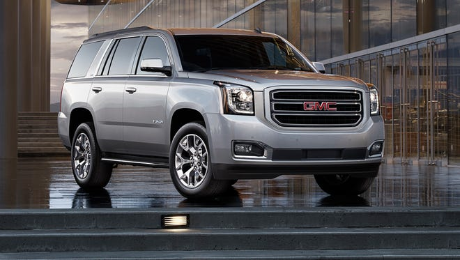 The 2015 GMC Yukon SLT starts at $46,335, but our loaded SLT 4x4 came to $64,520.