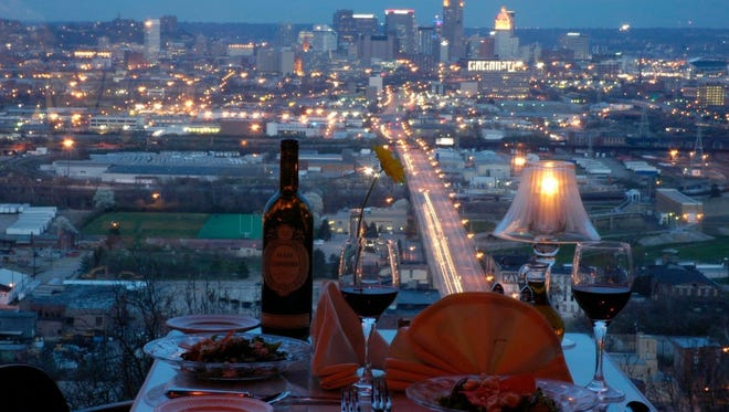 Primavista offers fine dining and a sweeping view.