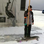 That was quick: Michigan's sturgeon season lasts about an hour