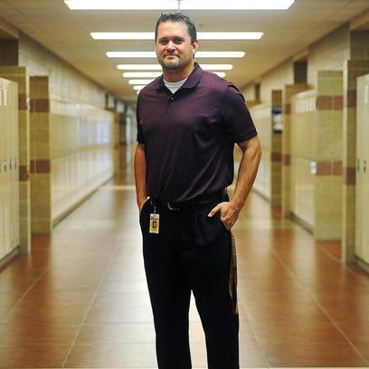 Ryan Rollinger, Harrisburg High School assistant principal,
