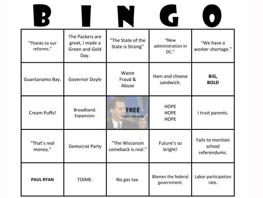 Walker bingo