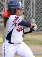 Freshman Lady Cat outfielder Mariah Trujillo was named