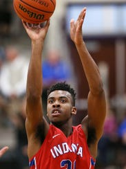 Paul Scruggs, shown here playing with the Indiana Junior