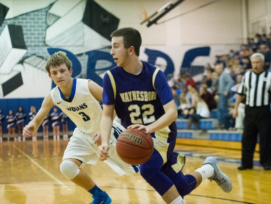 Zach Hatter (22) will be counted on as one of Waynesboro's