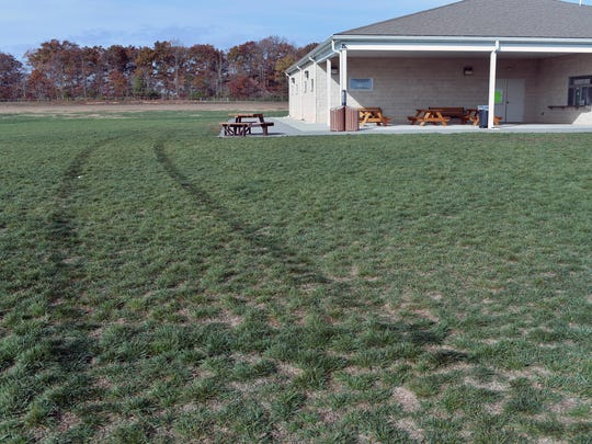 The Millville Soccer Association complex was vandalized late Friday night by intruders who drove a John Deere tractor that had been parked at the site across the fields and destroyed a locked gate.