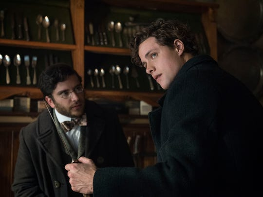Matthew Shear as Lucius Isaacson and Douglas Smith