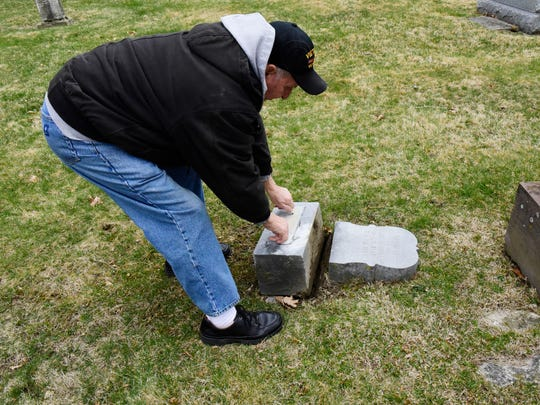 Jack Ferguson, former Oakwood Cemetery superintendent, is calling for repairs to monuments and roads at the historic cemetery where many of the city's prominent citizens have been buried.