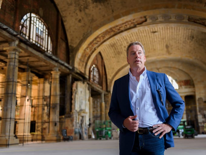 Ford Executive Chairman Bill Ford Jr. stands in the
