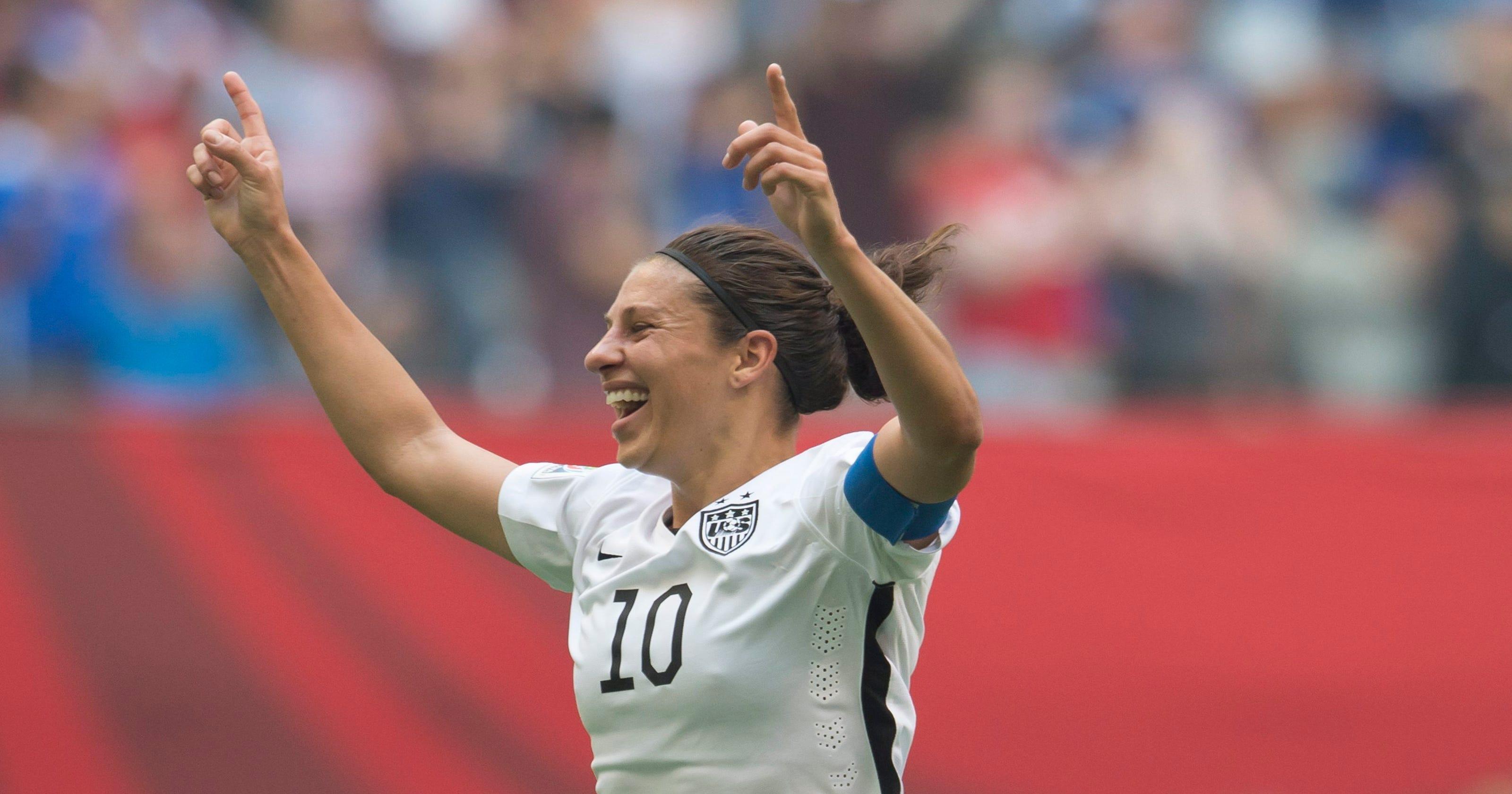 6e42a47ca49 Women s World Cup  Reaction to N.J. s Carli Lloyd hat trick