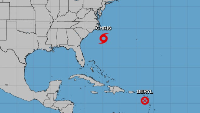 The National Hurricane Center is monitoring two tropical systems, neither of which is forecast to impact Southwest Florida.