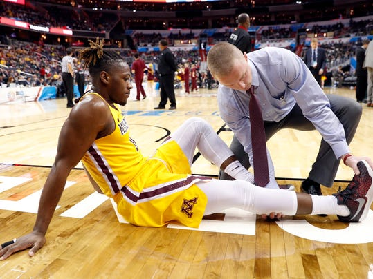 Minnesota's Springs out for season with torn Achilles tendon