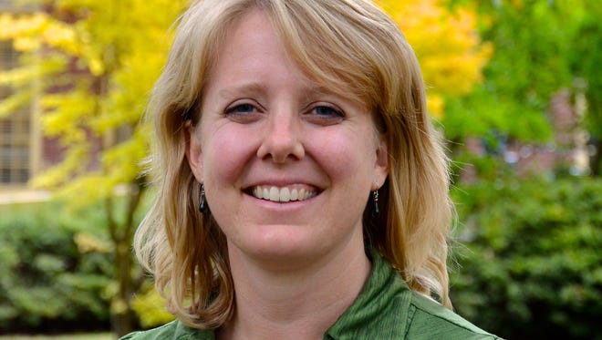 Carrie Bennett of the League of Women Voters