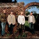 Original band members of 3 Doors Down: Todd Harrell, Chris Henderson, Matt Roberts and Brad Arnold.