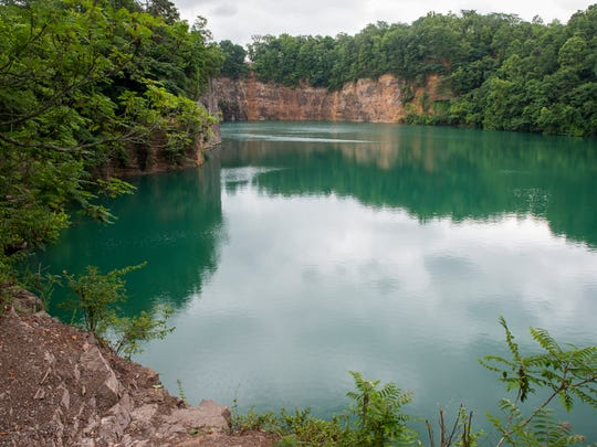 The quarry at Fort Dickerson has been a favorite swimming
