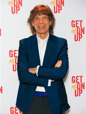 """Mick Jagger attends the world premiere of """"Get On Up"""" at the Ham Yard Hotel in central London. """"Empire"""" is a powerhouse, but it might have just received its biggest endorsement: Jagger says he's a fan of the musical drama series."""