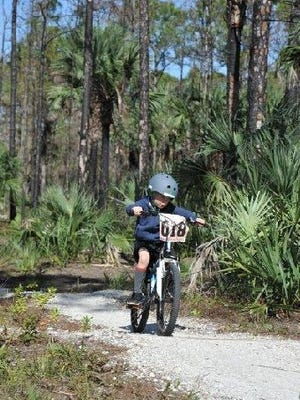 Take a Kid Mountain Biking Day: Biking off road trails at Jonathan Dickinson Park for kids. 9 a.m. May 20. Jonathan Dickinson State Park, 16450 S.E. U.S. 1, Hobe Sound. $6. Register: 561-313-7250; www.clubscrub.org.