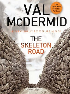 "This image released by Grove/Atlantic shows the cover of ""The Skeleton Road,"" by Val McDermid. (AP Photo/Grove/Atlantic)"