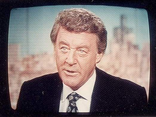 Former Channel 7 anchorman Bill Bonds, shown on the