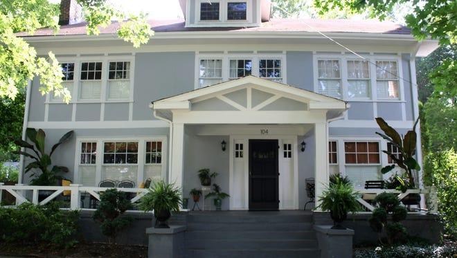 The Montford Holiday Tour runs through the historic Asheville neighborhood.