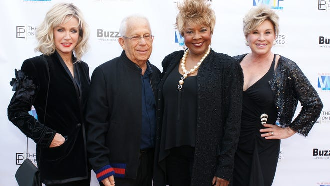 Donna Mills, Fred Fern, Thelma Houston and Patti Gribow.