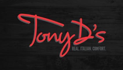 Tony D's logo.