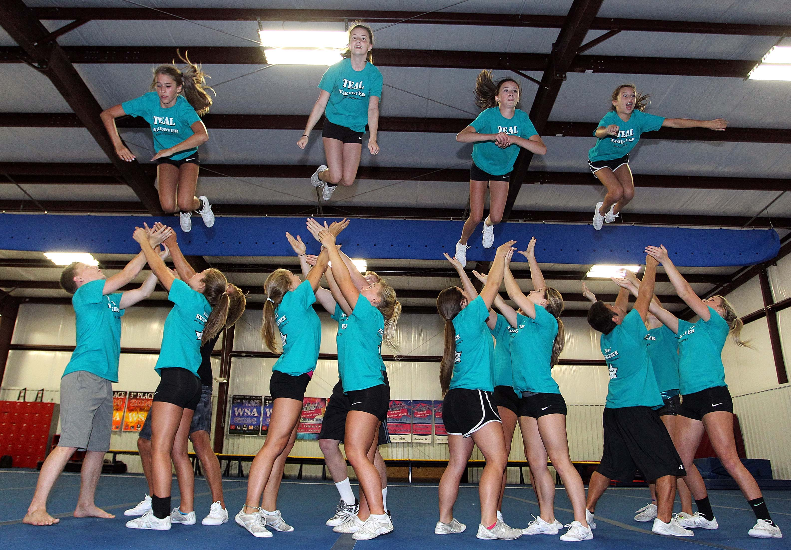 pics Serious Cheerleading Injuries On the Rise Due to Dangerous Stunts