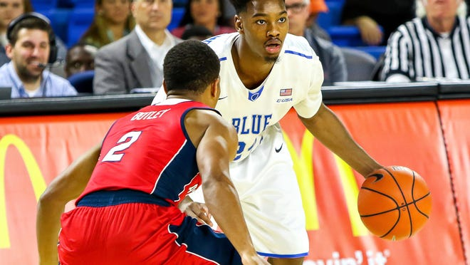 Junior Quay Copeland looks to be MTSU's full-time starter at point guard.