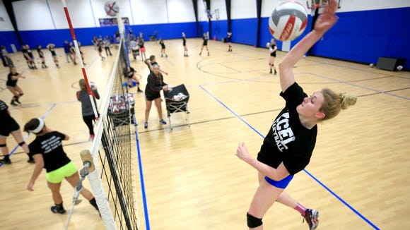 The Xcel Sportsplex will host six different Sports Performance Volleyball camps in July.
