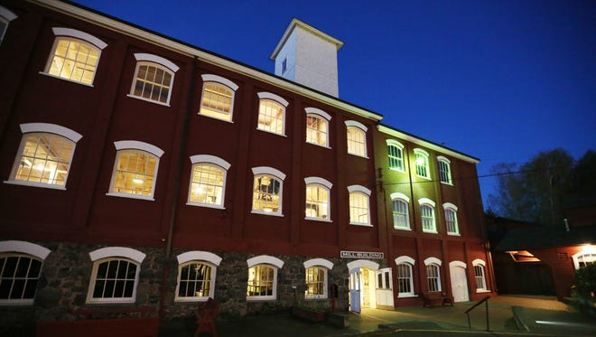 "The Willamette Heritage Center is aglow during ""Heritage Awards 2016: Our Stories"" on Friday, April 1, 2016, in Salem."