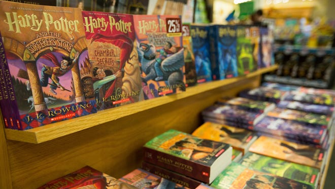 "Harry Potter books await fans at Barnes & Noble in the Mesilla Valley Mall. An exhibit, ""Harry Potter's World: Renaissance, Science, Magic, and Medicine"" will be in Las Cruces through May 16, 2018."