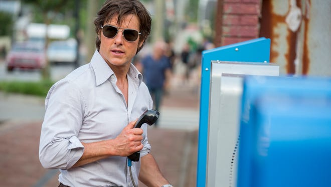 """Tom Cruise as Barry Seal in a scene from """"American Made."""""""