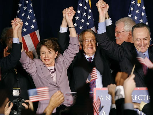 GTY DEMOCRATIC LEADERS AWAIT ELECTION RESULTS IN WASHINGTON A POL USA DC