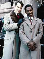 """Dan Aykroyd (left) and Eddie Murphy star in the 1983 comedy """"Trading Places."""""""