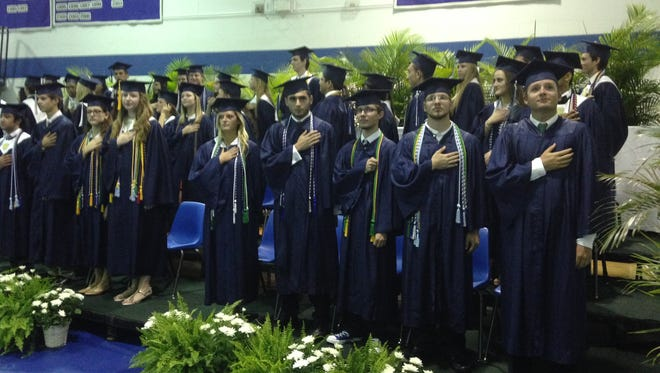 Canterbury School's class of 2014 graduated today.