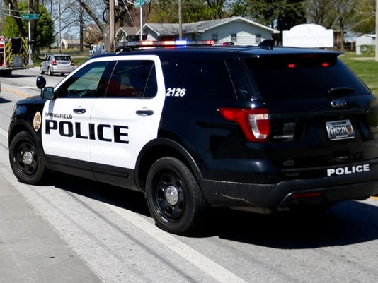 Springfield police SUV
