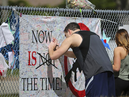 APTOPIX Florida School Shooting
