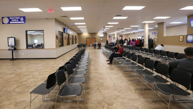 Rachel Denny Clow/Caller-TimesA grand opening was held for the new Driver License Center in Calallen on Thursday, March 12, 2015.