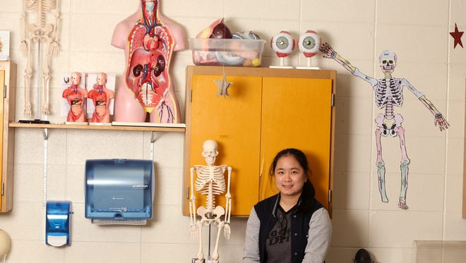Port Aransas High School student Vivian Nhan was named a Corpus Christi Caller-Times Distinguished Scholar in the achiever category.